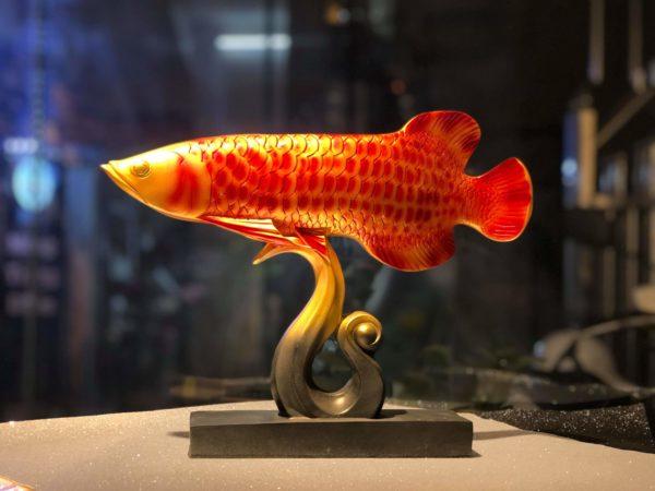 Tượng Cá Rồng - Trang Trí Nội Thất B-Decor